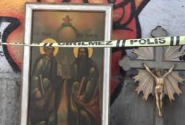 Beyoğlu'daki Ermeni kiliseden hırsızlık