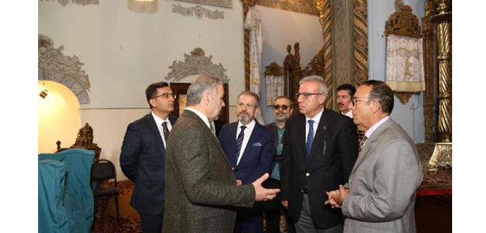 Kayseri Belediye Başkanı'ndan Ermeni Kilisesi'ne ziyaret
