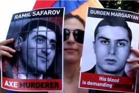 Ermeni subayı baltalayan katile Azerbaycan'dan yeni askeri rütbe