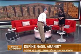 Habertürk TV'de skandal başlıklı program: 'nasıl define aranır?'