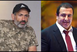 """Ermenistan'daki protestoların lideri Paşinyan """"Müreffeh Ermenistan"""" Partisi Başkanı ile görüştü"""