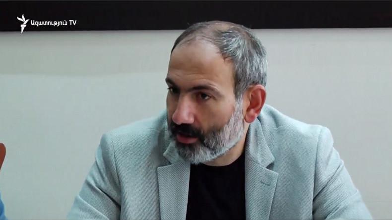 Ermenistan Başbakanı: ''Vatanımızdan gidecek  yerimiz yok''