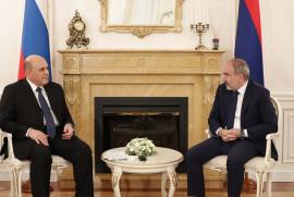 Ermenistan Başbakanı, Rusya Başbakanı ile ikili ilişkileri konuştu